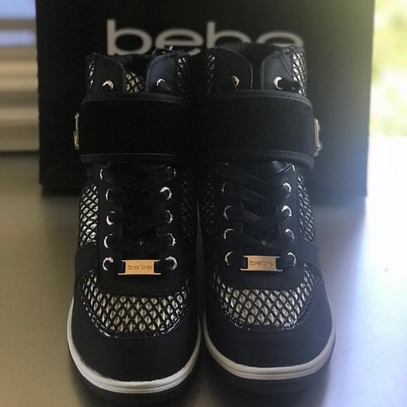 bebe Shoes | Bebe Tennis Shoes Wedge